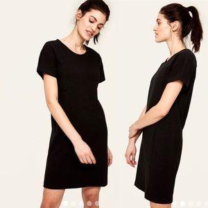 Lole Selah Straight Fit Black Jersey Mini Dress